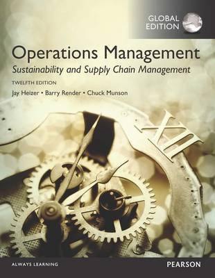 9781292148632 - Operations Management: Sustainability and Supply Chain Management, Gl obal Edition