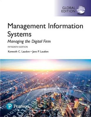 9781292211862 - Management Information Systems plus Pearson MyLab MIS with Pearson eText, Global Edition