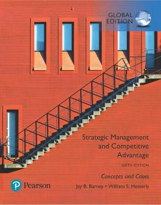 9781292258041 - Strategic Management and Competitive Advantage: Concepts and Cases, Global Edition