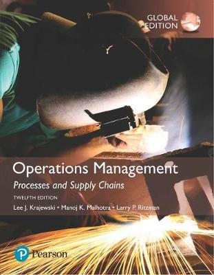 9781292259932 - Operations Management: Processes and Supply Chains, Global Edition