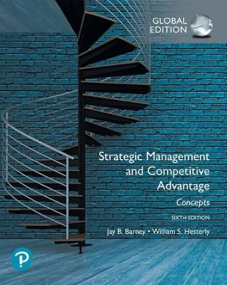 9781292266954 - Strategic Management and Competitive Advantage: Concepts Global Edition