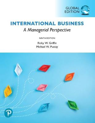 9781292313733 - International Business: A Managerial Perspective, Global Edition