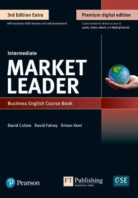 9781292361130 - Market Leader Extra Intermediate Coursebook with DVD-ROM and MyEnglishLab Pack