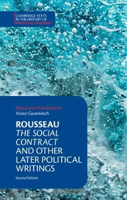 9781316605448 - Cambridge Texts in the History of Political Thought: Rousseau: The Social Contract and Other Later Political Writings