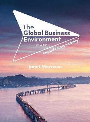 9781352008975 - The Global Business Environment: Towards Sustainability?