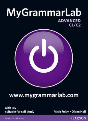9781408299111 - Mygrammarlab advanced with key and mylab pack