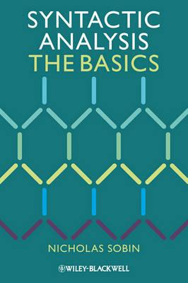9781444335071 - Syntactic Analysis: The Basics