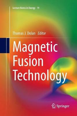 9781447169277 - Magnetic Fusion Technology