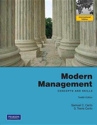 9781447930556 - Modern Management: Concept and Skills