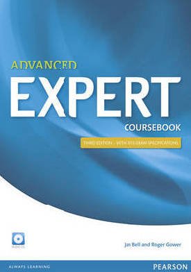 9781447961987 - Advanced expert coursebook (+ 4 audio-cd's)