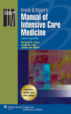 9781451185003 - Irwin & Rippe's Manual of Intensive Care Medicine