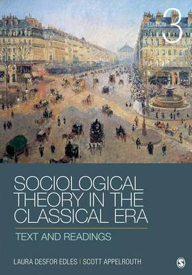 9781452203614 - Sociological Theory in the Classical Era