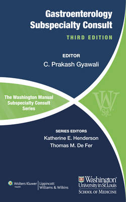 9781469839950 - The Washington Manual of Gastroenterology Subspecialty Consult