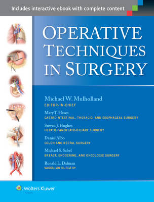 9781469888552 - Operative Techniques in Surgery
