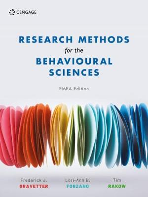 9781473774032 - Research Methods For The Behavioural Sciences