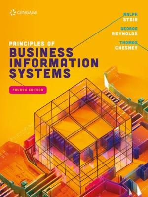 9781473774605 - Principles of Business Information Systems