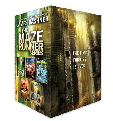 9781524771034 - The Maze Runner Series Complete Collection Boxed Set
