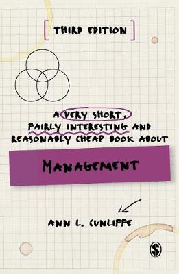 9781529710069 - A Very Short, Fairly Interesting and Reasonably Cheap Book about Management