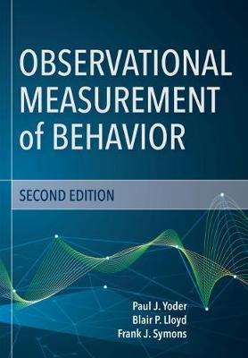 9781681252469 - Observational Measurement of Behavior