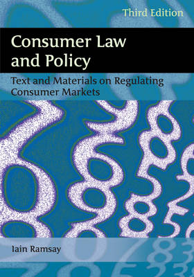 9781849462624 - Consumer Law and Policy