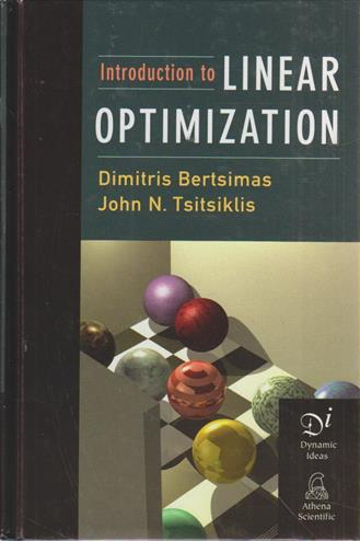 9781886529199 - Introduction to linear optimization