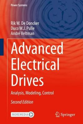 9783030489762 - Advanced Electrical Drives: Analysis, Modeling, Control