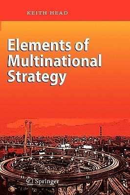 9783540447658 - Elements of multinational strategy