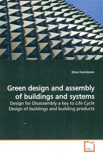 9783639112627 - Green design and assembly of buildings and systems