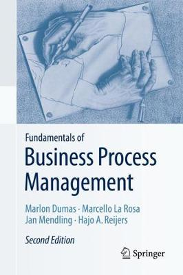 9783662565087 - Fundamentals of Business Process Management