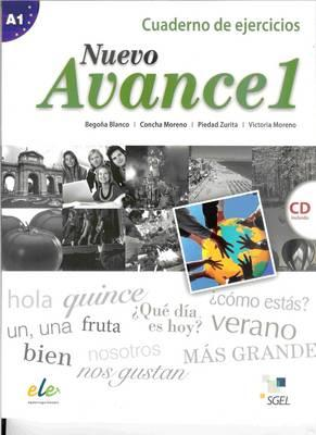 9788497786690 - Nuevo Avance 1 Exercises Book + CD A1