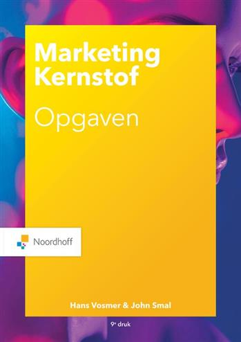 9789001593476 - Marketing Kernstof opgaven