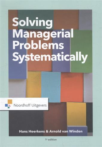 9789001887957 - Solving managerial problems systematically