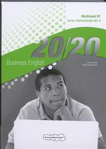 9789006814514 20/20 business english administratie niveau 3-4 werkboek b1