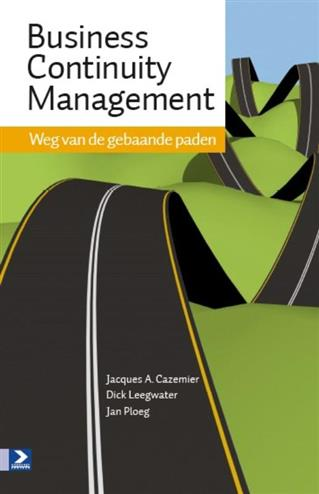 9789012582292 - Business continuity management weg van de gebaande paden