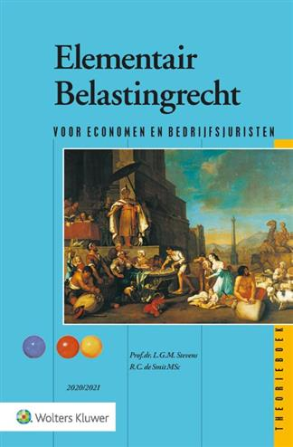 9789013158762 - Elementair Belastingrecht (theorieboek) 2020-2021