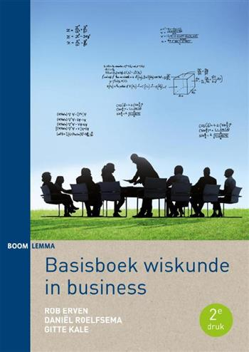 9789462365100 - Basisboek wiskunde in business