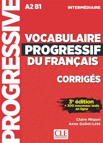 9789462939363 - Vocabulaire progressif du français 3e ed niv intermed corrig