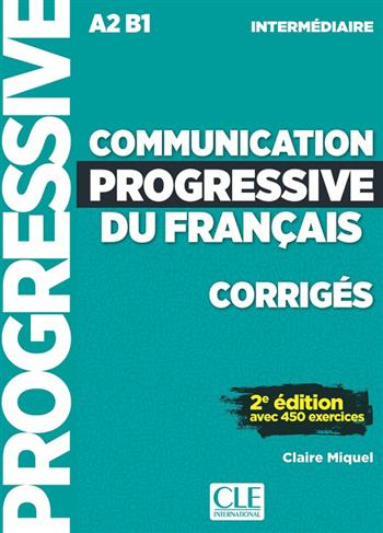 9789462939691 - Communication progressive du francais 2e edition - niveau intermediaire (Corriges)