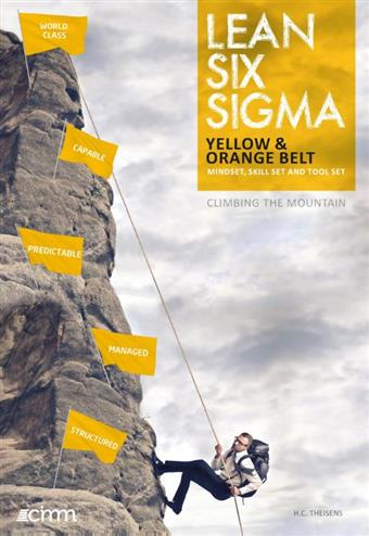 9789492240088 - Lean six sigma yellow and orange belt
